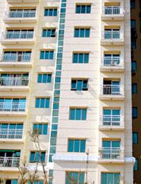 Tầm nhìn cũng là một phần quan trọng khi chọn căn hộ chung cư. Ảnh Hoàng Hà