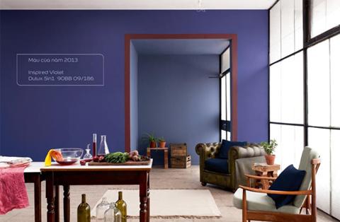 Hiện đại nhưng cổ điển, thực tế nhưng vẫn độc đáo, màu xanh chàm được sử dụng rộng rãi ở cả dự án nhà dân dụng lẫn công nghiệp.