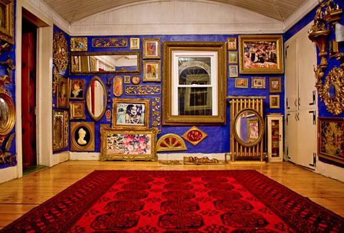 Không gian để treo những tác phẩm nghệ thuật, ảnh gia đình.
