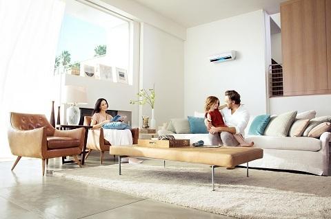 Máy điều hòa thế hệ mới giống như một lá phổi, lọc không khí và bụi bẩn cho ngôi nhà.