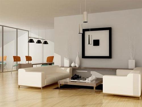phòng ngủ khách đơn giản, nhưng rất phong cách