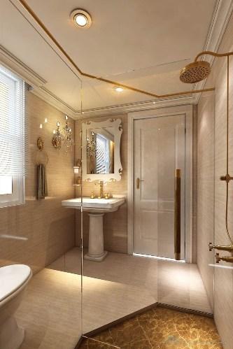 Phòng tắm lớn.
