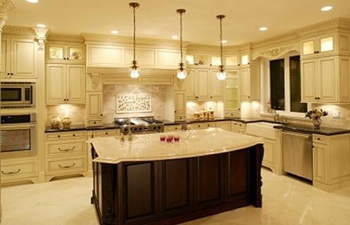 Đèn cho bàn làm bếp.