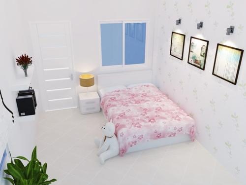 phòng ngủ con gái.