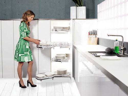 Việc dọn bếp dễ dàng hơn khi có những trang bị thông minh.