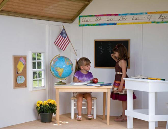 <p> Không gian xinh xắn sẽ giúp cho bé yêu thích việc học hành hơn.</p>