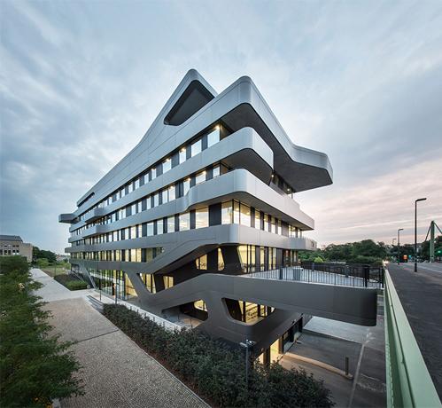 Trung tâm học thuật Dusseldorf của Đại học Khoa học Ứng dụng Kinh tế và Quản lý (Đức).