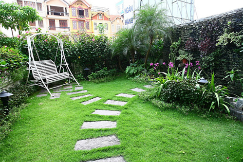 Những công viên nhỏ trên mái nhà ở Hà Nội, Sài Gòn - 2
