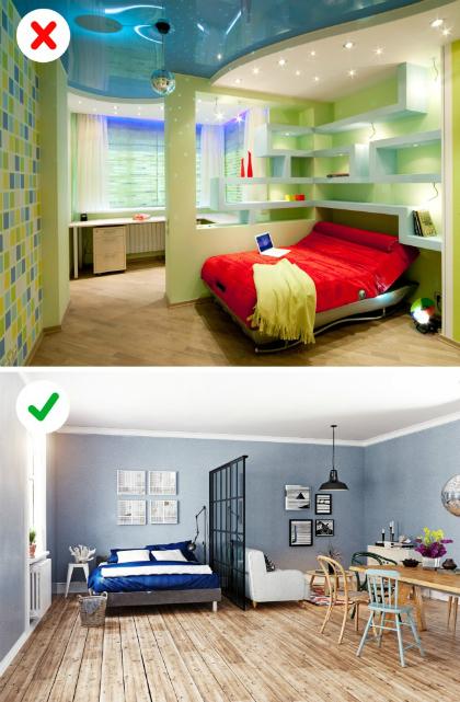 10 ý tưởng thiết kế căn hộ đã lỗi thời - 1