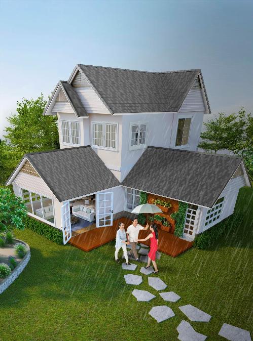 Các loại vật liệu xây dựng tốtgóp phầnmang đếnkhông gian sống khỏe mạnh, an toàn, tiện nghị cho gia đình.