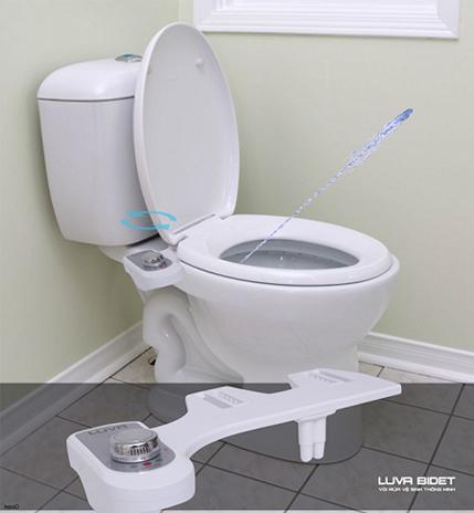 Cơ chế vòi phun của Luva Bidet mang đến cảm giác thoải mái, sạch sẽ và an toàn cho người sử dụng.