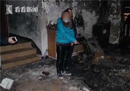 Ngôi nhà bị cháy hết. Ảnh: Jstv.