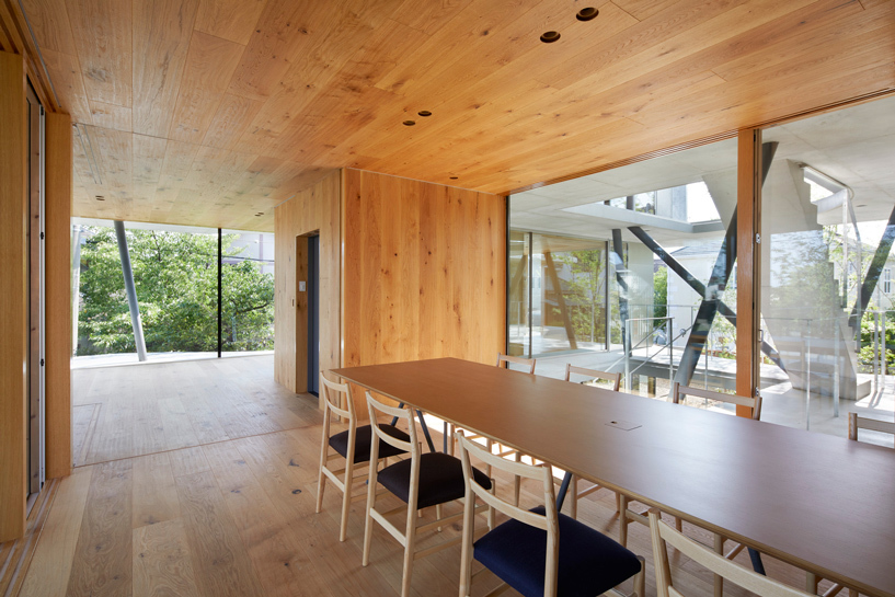 tomohiro hata ground house1 designboom 010