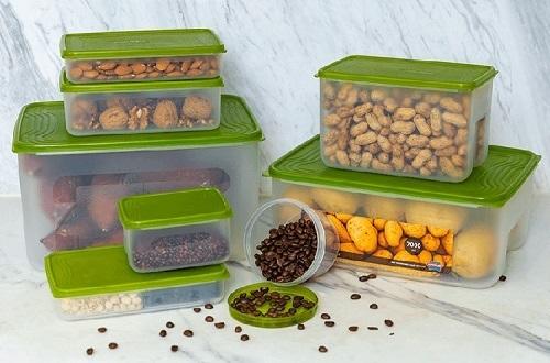 Một số loại thực phẩm khô không cần trữ trong tủ lạnh, có thể chứa bằng hộp nhựa để giữ độ ngon, lại khô ráo. Hộp nhựa chứa thực phẩm khô của Biozone có nhiều kích cỡ khác nhau. Làm từ nhựa PP an toàn, không chứa chất gây ung thư. Sản phẩm hiện có bán trên Shop VnExpress với giá ưu đãi89.000 đồng.