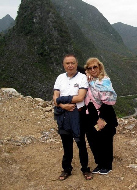 Mỗi năm, ông Dân đều cùng vợ sang Italy một lần, nhưng đây là chuyến về quê vợ bão táp nhất của đời ông. Ảnh: Nhân vật cung cấp.