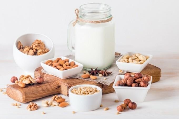Sữa hạt giàu dinh dưỡng.