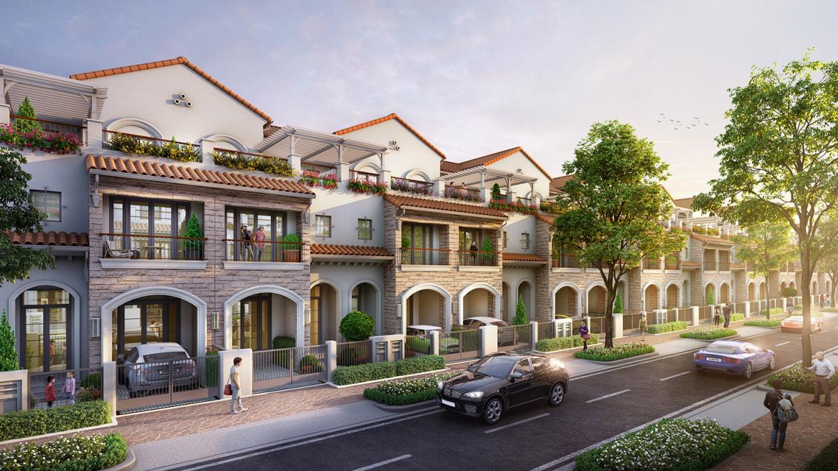 Nhiều người Việt chuộng thiết kế nhà phố phong cách Địa Trung Hải