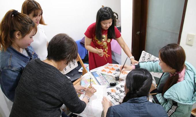 Người phụ nữ Việt thành giảng viên ở Đài Loan