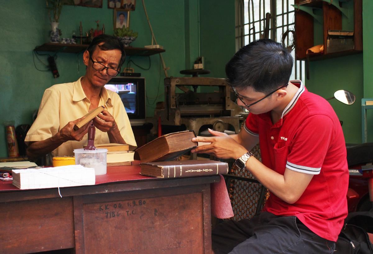 """""""Bác sĩ sách"""" cuối cùng ở Sài Gòn"""