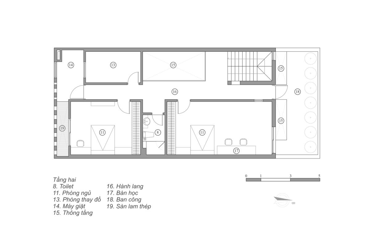 Ngôi nhà có mái chữ V