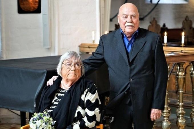 Vợ chồng nhà Preisler tái hôn tại nhà thờ Thánh Nicolai sau 31 năm ly dị. Ảnh: Nhà thờ Thánh Nicolai.
