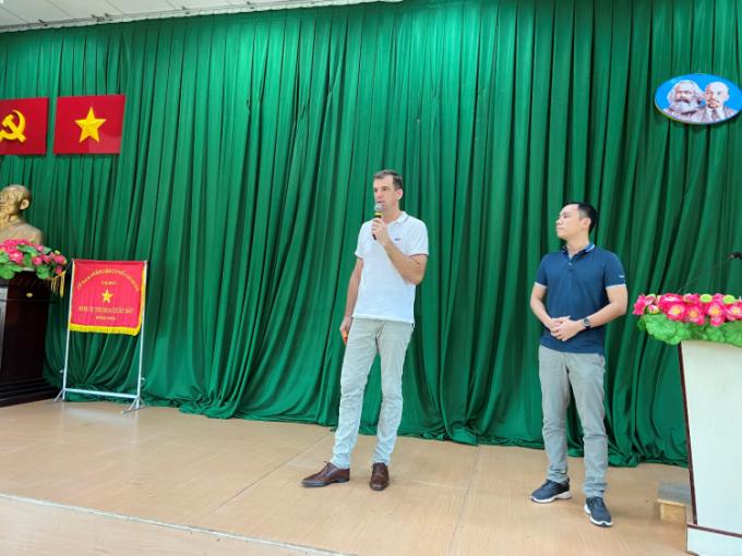 KONE Việt Nam hỗ trợ học sinh vượt đại dịch