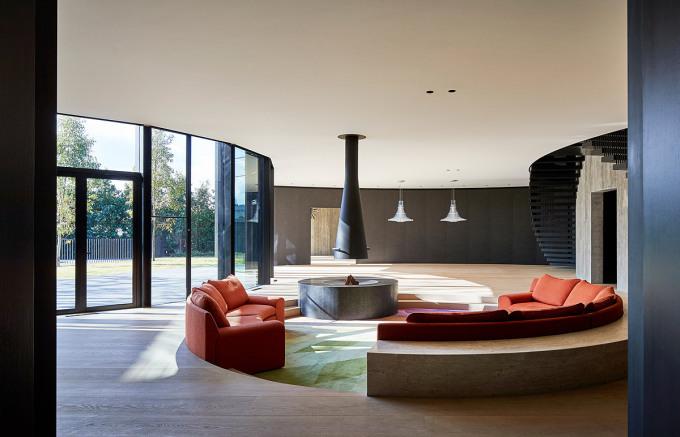 Ngôi nhà có mái hình đĩa