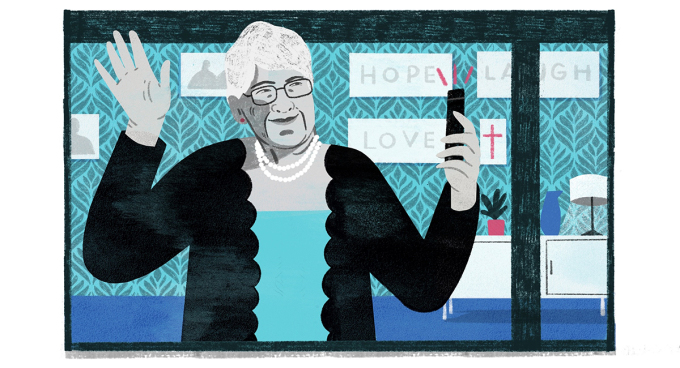 Bettye Barclay, 86 tuổi, sống ở Santa Monica, California . Minh họa: Washington Post.