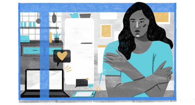Gina Fernandes, 33 tuổi, sống ở Washington D.C.Minh họa: Washington Post.