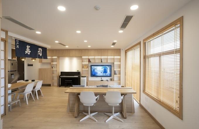 Căn hộ kiểu Nhật giúp chủ nhà không lo dọn dẹp mất thời gian - ảnh 1