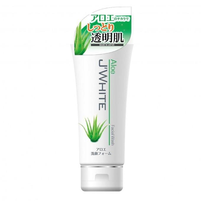 Sữa rửa mặt tinh chất lô hội Nhật Bản JWhite có tác dụng giúp làm mờ vết thâm, nám trên da. Chiết xuất lô hội nguyên chất giàu khoáng chất và các vitamin có lợi cho da, giúp giảm nếp nhăn, se khít lỗ chân lông. Các vitamin hỗ trợ dưỡng trắng, bảo vệ da khỏi các tác động của ánh nắng mặt trời (nếu dùng kèm với kem chống nắng). Sản phẩm có giá ưu đãi 30% trên Shop VnExpress, giảm còn 152.000 đồng (giá gốc 235.000 đồng).