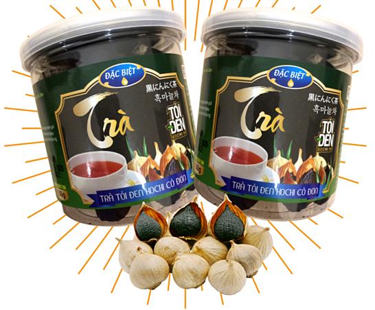Trà tỏi đen Kochi nguyên củ bóc vỏ 150 g giảm 34% còn 230.000 đồng thiết kế là tỏi đen nguyên củ bóc vỏ đảm bảo sự nguyên chất và đầy đủ công dụng của tỏi đen, cho hương vị trà thơm, hài hòa và có màu sắc đỏ nâu bắt mắt.