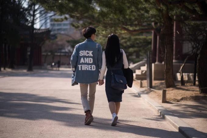 Giới trẻ Hàn Quốc ngày càng tỏ ra sợ sinh con. Ảnh: Koreatimes.