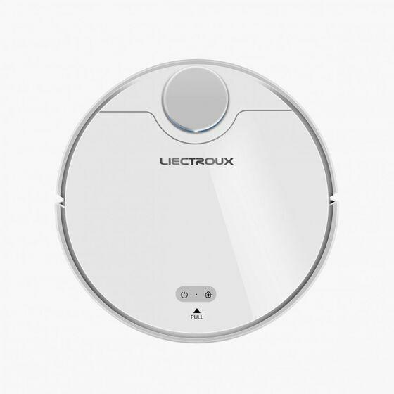 Robot hút bụi lau nhà Liectroux ZK901 giảm 17% còn 7,39 triệu đồng; có màu sắc trắng trang nhã, kiểu dáng mạnh mẽ và sang trọng. Robot được lắp hệ thống quét lazer nổi lên thân trên mang thêm vẻ kỳ bí. Với kích thước 34 x 34 x 11cm đẹp mắt và dày dặn, khỏe khoắn, sản phẩm không những giúp cho ngôi nhà của bạn sạch hơn mà còn trang trí thêm cho không gian sự hiện đại, đẳng cấp.
