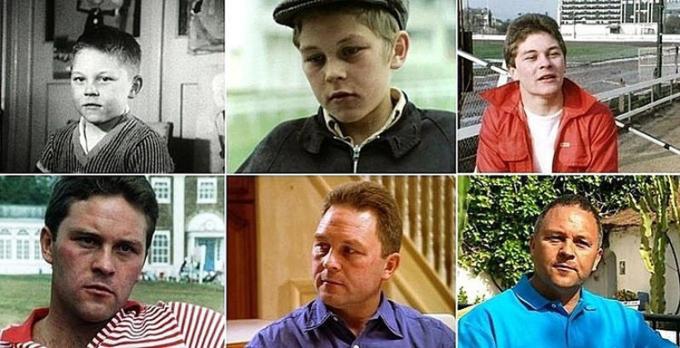 Những đứa trẻ trong bộ phim tài liệu kéo dài hàng chục năm mang tên The Up Series (7 năm cuộc đời) của đài BBC.