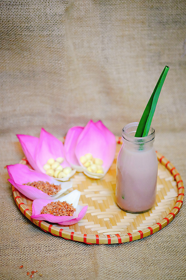 3 công thức nấu sữa hạt sen bổ dưỡng và dễ làm