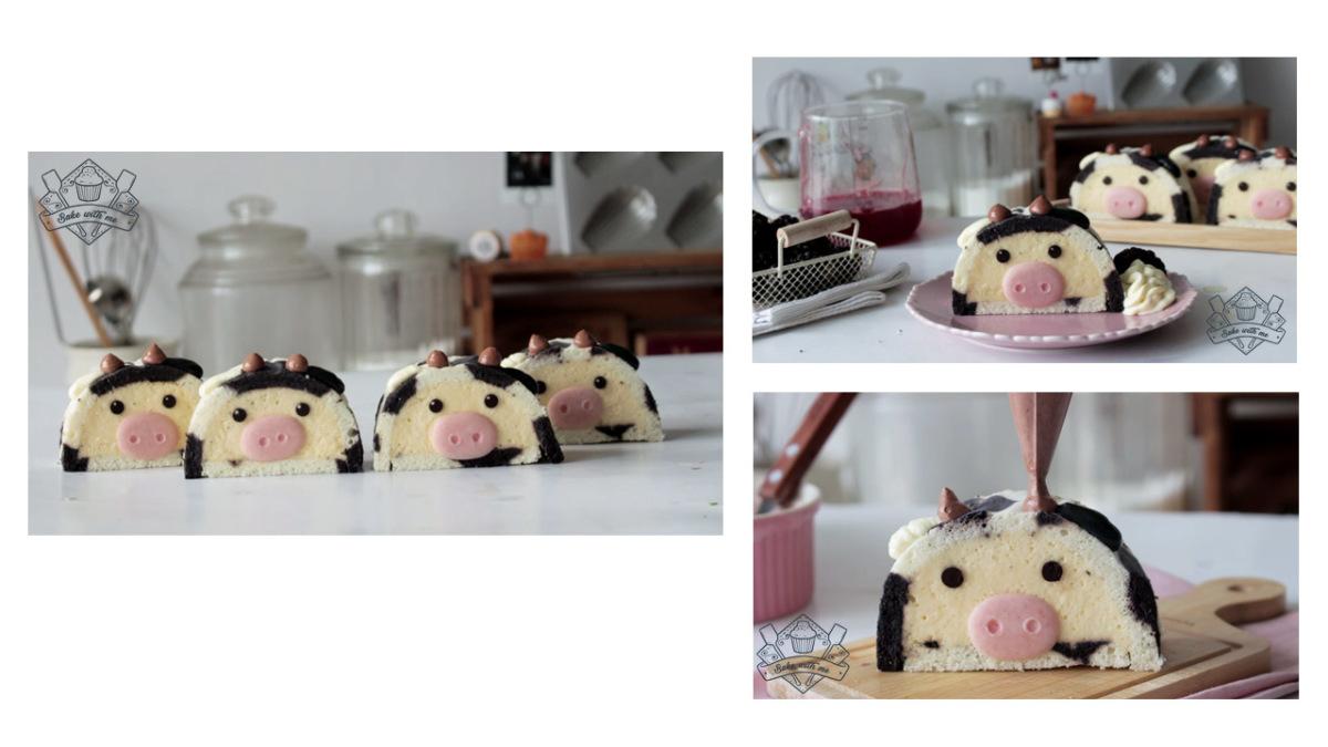 Những chiếc bánh 'dễ thương