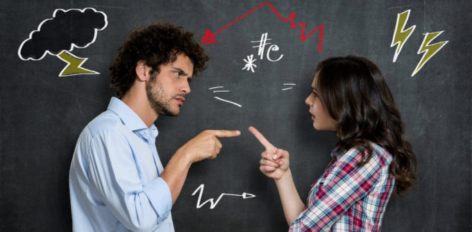 Việc tranh cãi giữa người không cùng trình độ và quan điểm, chính là một sự tốn công vô ích. Ảnh minh họa: Psychology Today.
