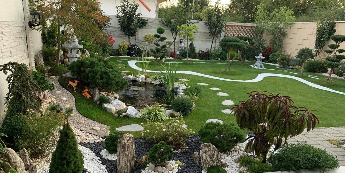 Ông bố Việt mang cây sang Slovakia làm vườn
