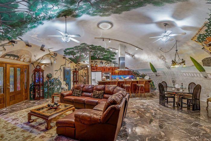 Căn nhà dưới lòng đất trị giá hơn 2 triệu USD