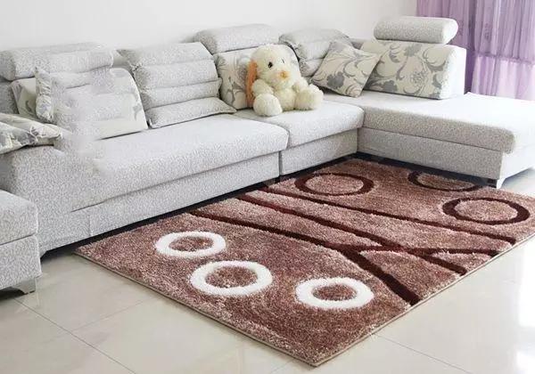 Gia chủ cần vệ sinh và chăm sóc thảm phòng khách rất thường xuyên. Ảnh: Aboluowang