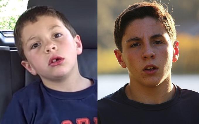 Cậu bé David Devore Jr nổi tiếng từ video sau khi đến gặp bác sĩ nha khoa. Ảnh: ABC.