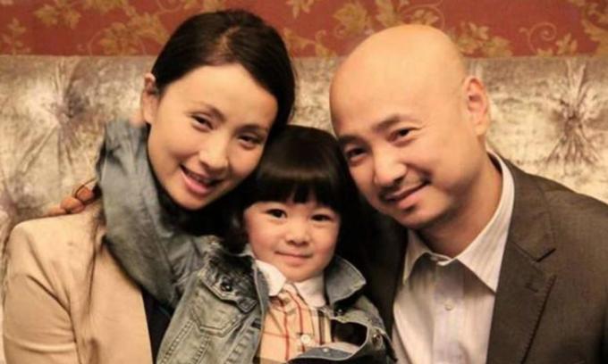 Gia đình nữ diễn viên Trung Quốc- Đào Hồng. Ảnh: sina.