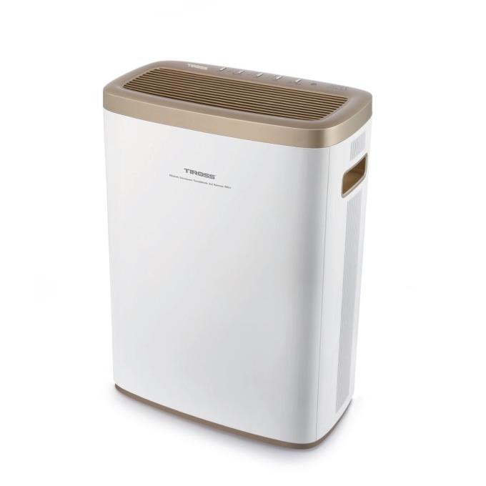 Máy lọc không khí Tiross TS9710 3.990.000đ3.277.5 màng lọc HEPA cấp 12 và màng lọc khử Fomandehit bằng than hoạt tính tự nhiên sẽ giúp không khí trong nhà bạn trong lành, vận hành máy lọc để không khi luôn tươi mới và sạch sẽ.