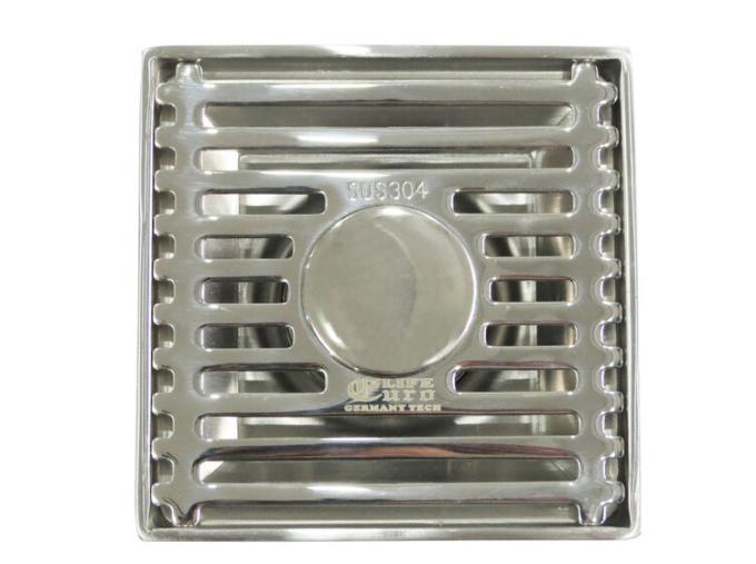 Hố ga thoát sàn Eurolife EL-HG05 có tác dụng chống mùi hôi trào ngược được làm từ inox 304 với độ dày 2,5 mm, kích thước 100 x 100 mm. Sản phẩm phù hợp với ống chờ từ 40  đến 60 mm, có đầu chờ cho vòi xả của các loại máy giặt. -Sản phẩm dễ dàng tháo rời để vệ sinh  Đường thoát được thiết kế với 1 lưới lọc rác, có thể tháo rời vệ sinh định kỳ. Sản phẩm có giá ưu đãi dịp cuối tuần là 187.500 đồng.