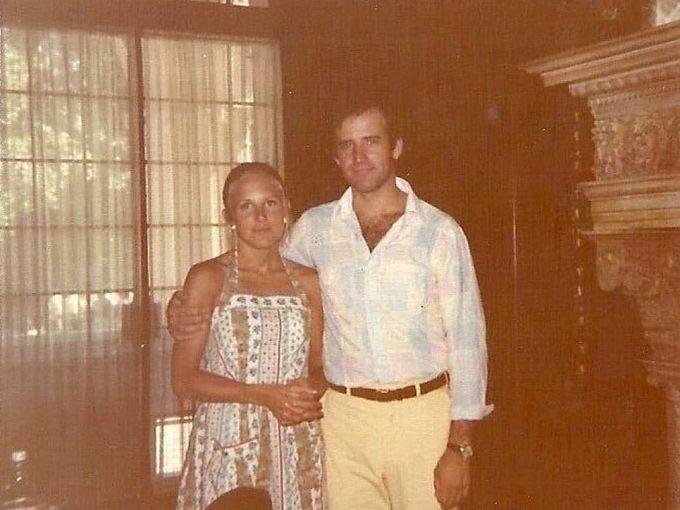 Joe và Jill thời trẻ. Ảnh: drbiden.