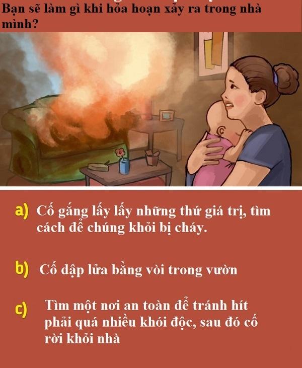 Bạn có sống sót sau 10 tình huống nguy hiểm này không?