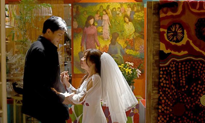 Kiệt và Trang chính thức tổ chức hôn lễ vào tháng 10/2020. Ảnh: Nhân vật cung cấp.