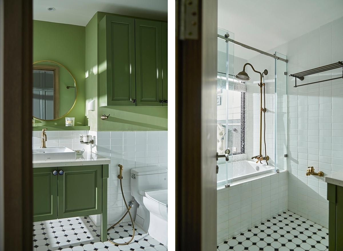 Phòng tắm đã hoàn thiện cơ bản song gia chủ quyết làm lại để có tổ ấm như ý. Ảnh: Sputnik.