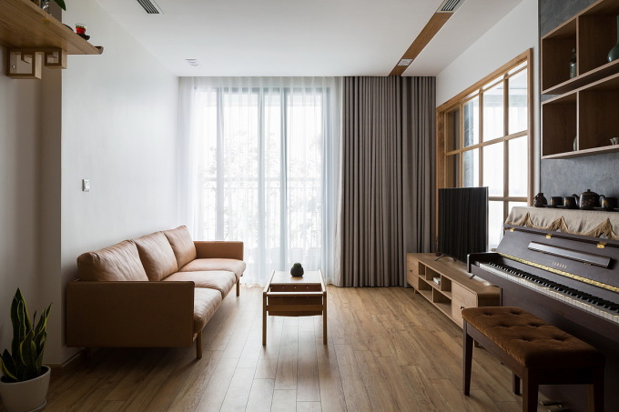Sàn gỗ được nhiều gia chủ Việt lựa chọn. Ảnh: Hoàng Lê.